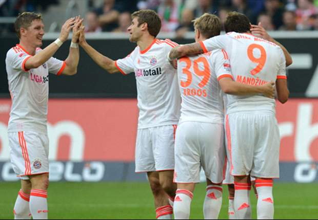 Fortuna Dusseldorf 0-5 Bayern Munich: Eight wins out of eight for relentless leaders