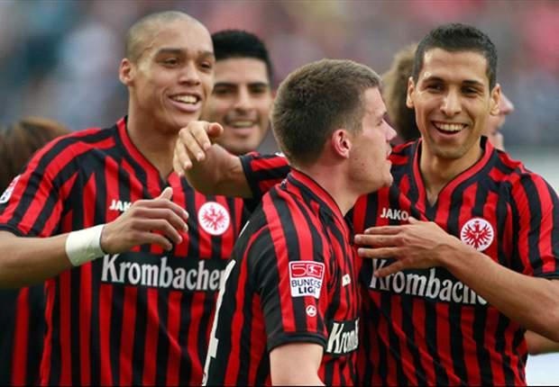 Frankfurt siegt 3:1 gegen Hannover und marschiert weiter