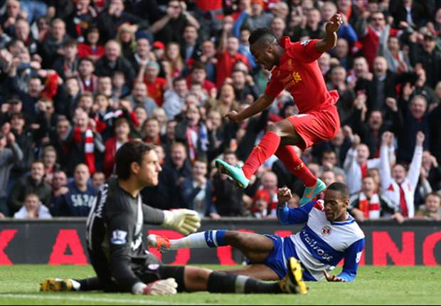 Liverpool 1-0 Reading: Sterling strike gives Rodgers first home league win