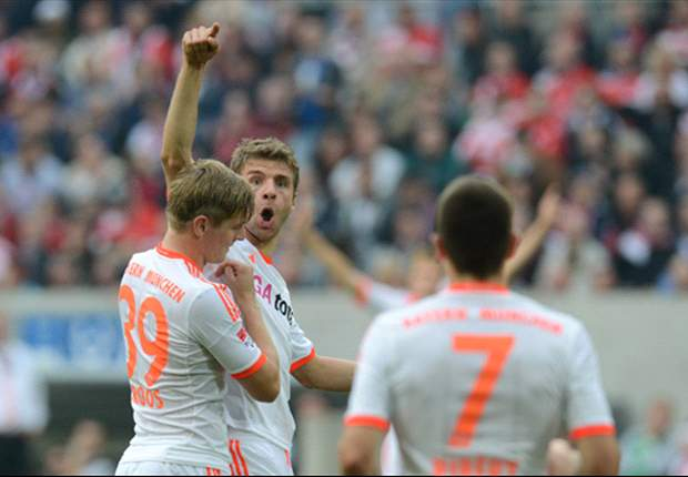 Hamburg 0-3 Bayern: Schweinsteiger, Kroos and Muller return Bavarians to winning ways