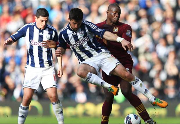 Laporan Pertandingan: West Brom 1-2 Manchester City