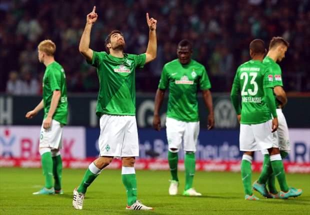 Empat Gol Werder Bremen Kandaskan Borussia Monchengladbach