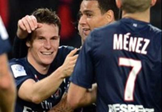 Ligue 1, PSG - Gameiro et Ménez forfaits