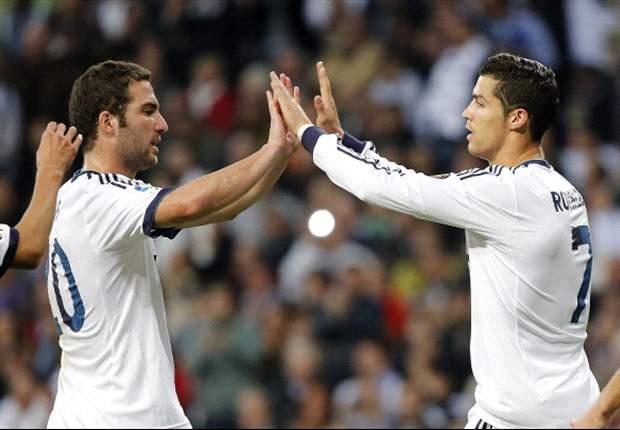 ESP - Higuain, Ronaldo et Casillas titulaires pour le Real