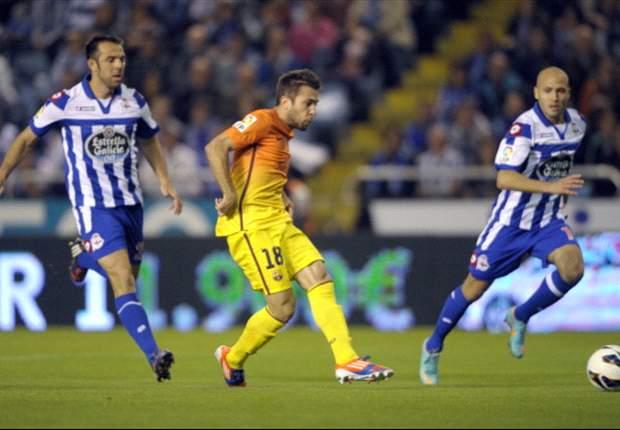 Riki y Martins buscarán el gol, las alineaciones del Deportivo-Levante