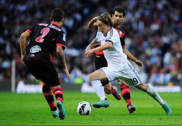 Luka Modric, ante su oportunidad de reivindicarse en el Real Madrid desde el mediocentro