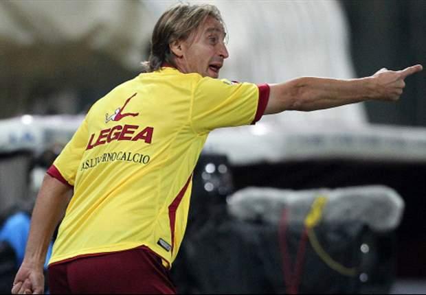 """Nicola prepara il suo Livorno: """"Non culliamoci sulla vittoria col Sassuolo, le assenze ci daranno uno stimolo in più"""""""