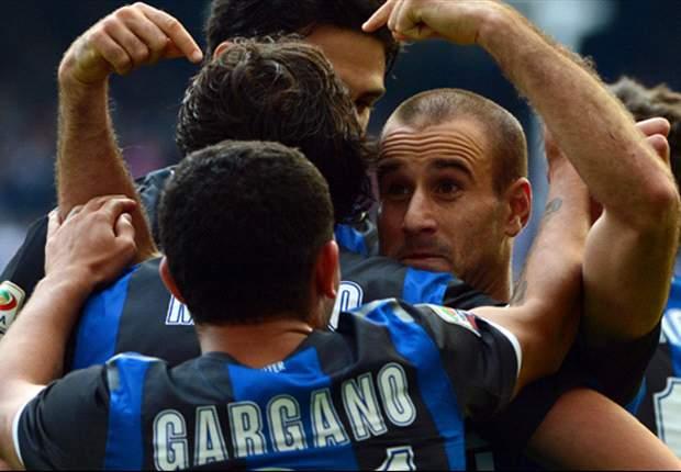 Inter 2-0 Catania. Hasta 16 argentinos jugaron el partido