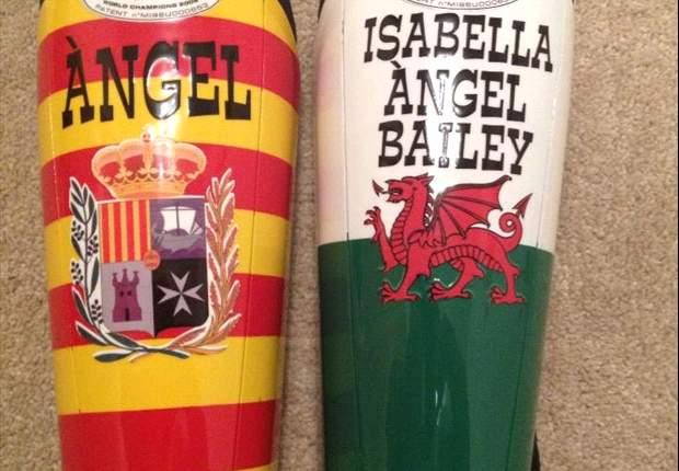 Ángel Rangel, jugador del Swansea City: Me siento 100 % catalán