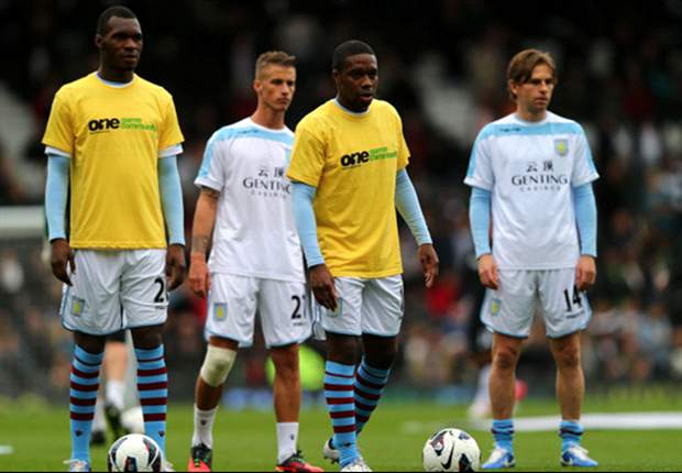 Aston Villa rebuff claims players protested against 'Kick it Out' campaign
