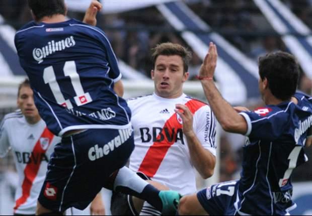 Imagen del último partido. Fue en el Torneo Incial 2012 y ganó Quilmes 1 a 0.