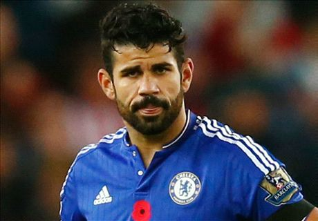 TEAM NEWS: Costa dropped for Spurs clash