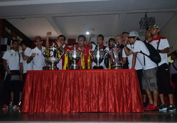 More than 10,000 people welcome Kelantan players