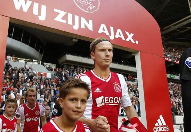 Poulsen ontbreekt bij Ajax