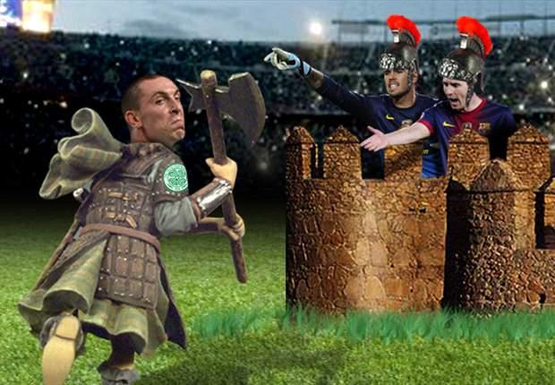 El Celtic intentará derribar la muralla de un Barcelona intratable en el Camp Nou