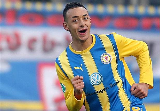 Hier noch im alten BTSV-Dress, kehrt Karim Bellarabi vorrübergehend nach Braunschweig zurück