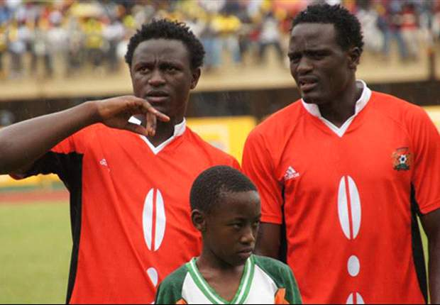 Kenya midfielders Victor Wanyama and Macdonald Mariga