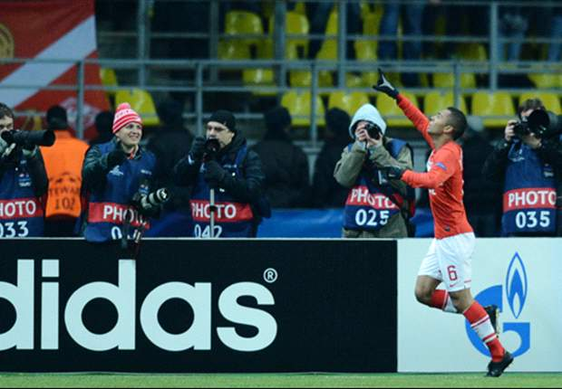 Spartak Moscow 2-1 Benfica: Jardel own goal puts Russians back into Group G contention