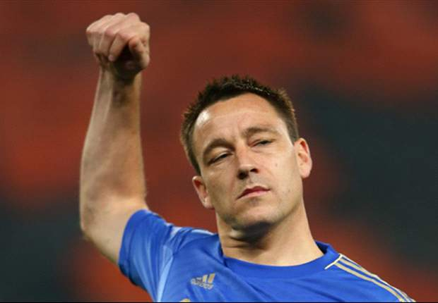 TEAM NEWS: John Terry left on the substitutes' bench for Chelsea against Shakhtar Donetsk