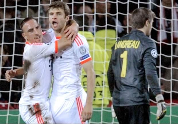 Aufstellungen: Ribery und Pizarro wieder von Beginn an