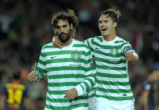 TEAM NEWS: Villa and Fabregas on the bench for Barcelona as Samaras and Miku start for Celtic