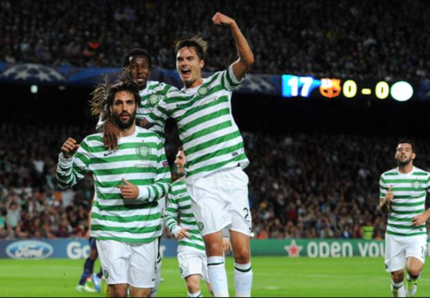 Barcelona 2-1 Celtic: Heartbreak for Hoops after Alba wins it late