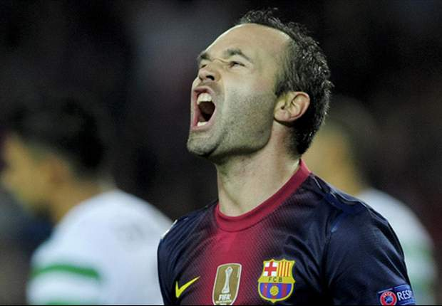 Iniesta: Villa is a key player for Barcelona