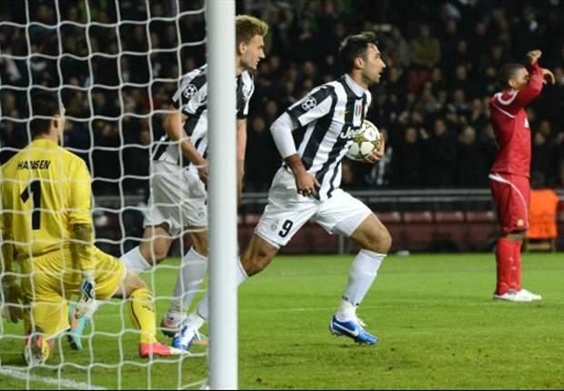Nordsjelland 1 x 1 Juventus: Vucinic evita 'mico' dos invictos na Dinamarca