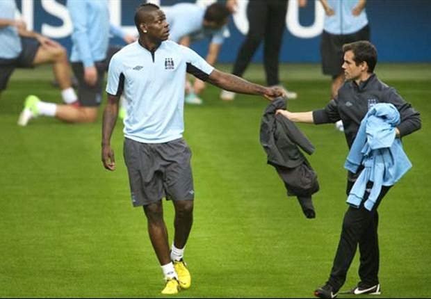 TEAM NEWS: Balotelli, Dzeko & Tevez all start for Man City at West Ham