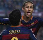 HAYWARD: Neymar, Suarez putting Messi, Ronaldo in shade