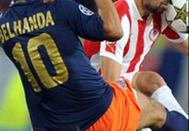 Montpellier 1-2 Olympiakos: Mitroglou strikes in injury time to give Greeks valuable win