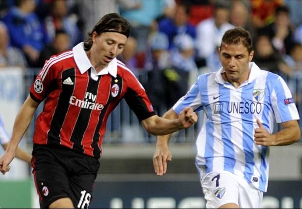 Laporan Pertandingan: Malaga 1-0 AC Milan