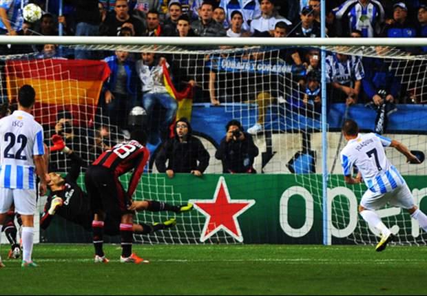 FC Malaga schlägt Milan und spielt die perfekte Champions League-Vorrunde