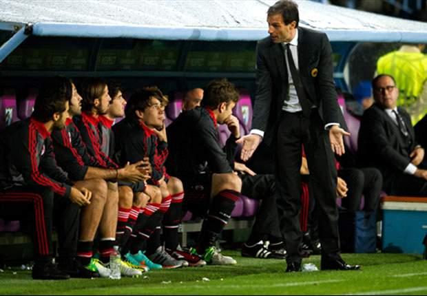 Third straight AC Milan defeat & Galliani vote of no confidence leaves Allegri exit inevitable