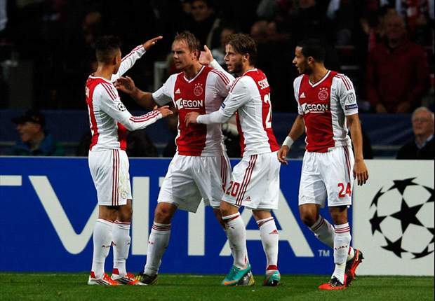 Ajax 3-1 Manchester City: Mancini's men on brink of Champions League exit
