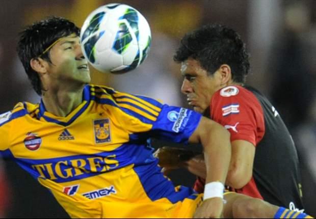 Tigres 5-0 Alajuelense: Alan Pulido hace triplete en victoria demoledora