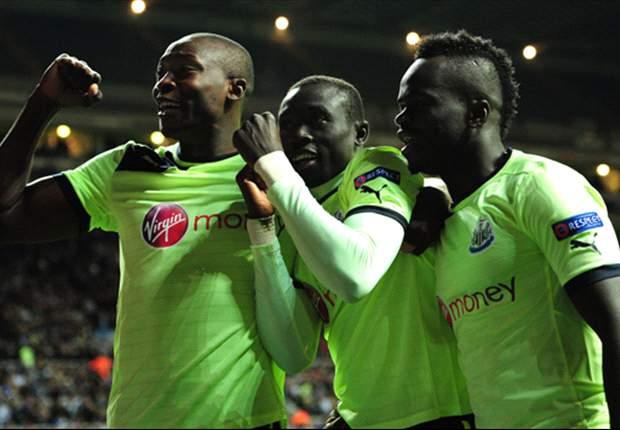 Shola Ameobi: Pemain Newcastle United Galau