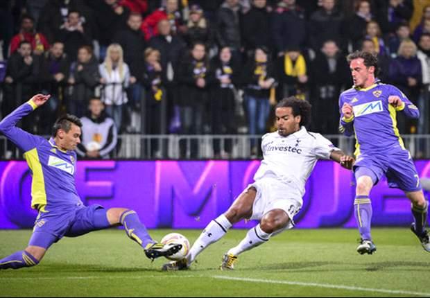 Injury problems and no Moutinho leave Villas-Boas' Tottenham midfield rudderless