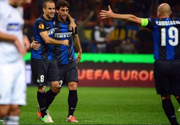 Com gols nos minutos finais, Inter vence e Lazio empata