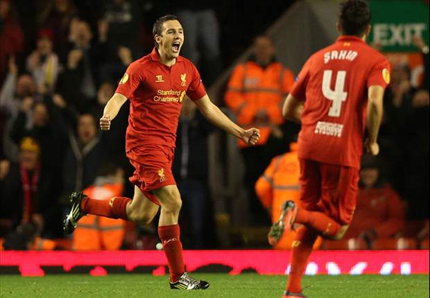 Rodgers salutes Downing strike as Liverpool top Europa League group