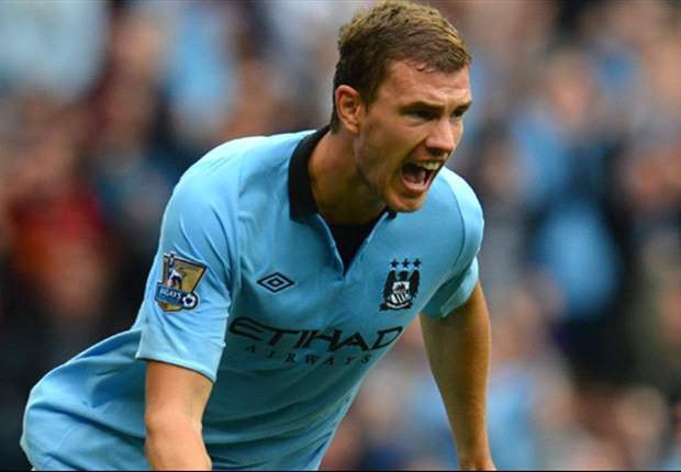 TEAM NEWS: Dzeko, Lescott & Nasri return to Man City starting XI for Everton clash