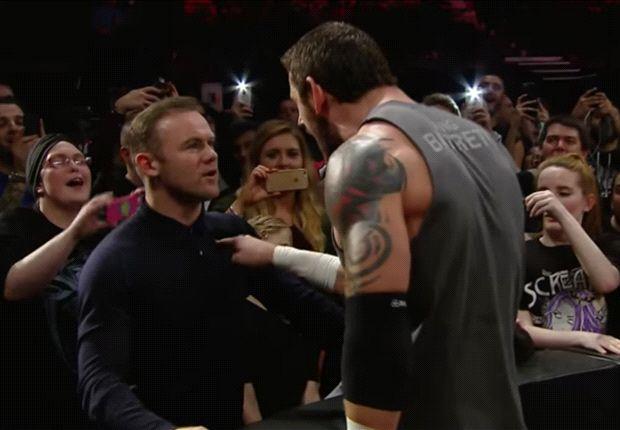 VIDEO: Watch Rooney slap WWE superstar Wade Barrett