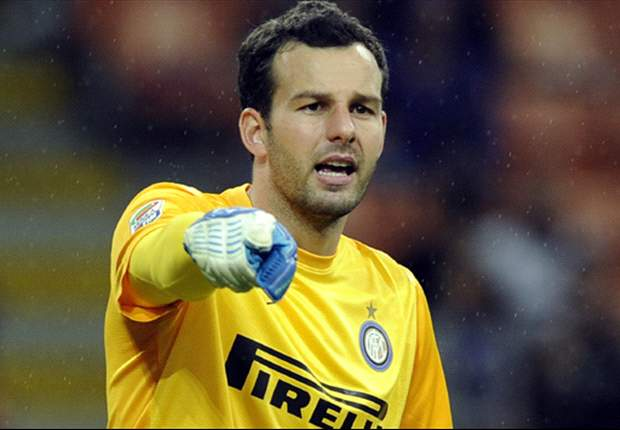 Samir Handanovic looks set to stay at Inter this summer