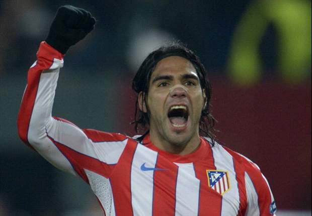 Radamel Falcao consigue su gol número 50 con el Atlético de Madrid