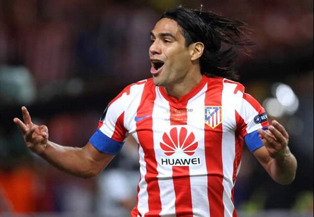 Falcao se quedará hasta el fin de la temporada con el Atlético de Madrid