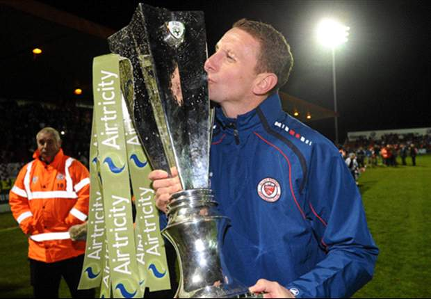 Sligo Rovers part company with manager Ian Baraclough