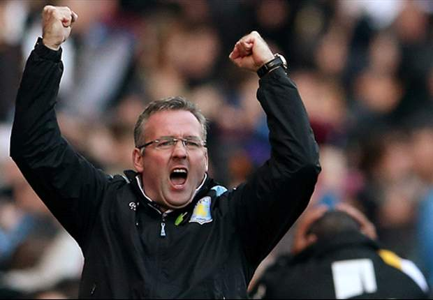 Aston Villa need 'mental strength' to beat the drop, says Lambert