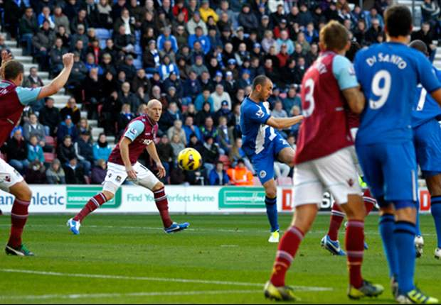 Wigan 2-1 West Ham: Ramis and McArthur volley Latics to victory