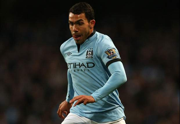 Manchester City 1-0 Swansea City: Tevez stunner marred by injury sickener for Richards
