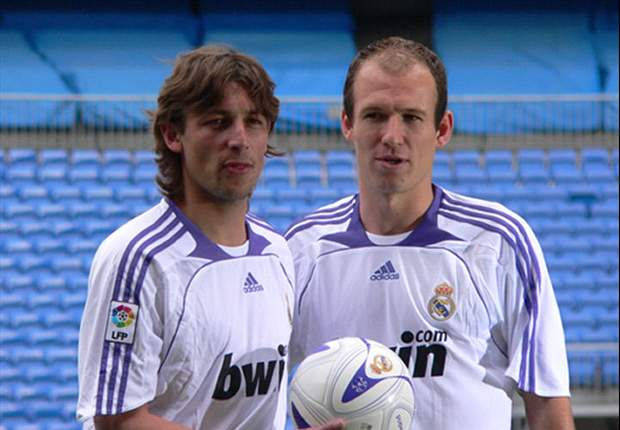 Tottenham Hotspur Negotiating For Real Madrid's Arjen Robben, Gabriel Heinze & Klaas-Jan Huntelaar - Report